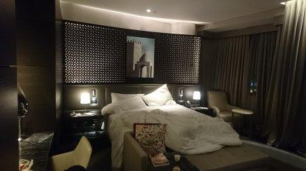 Das beste an Doha: ein Bett im Westin.